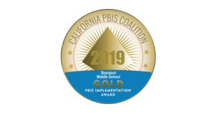 SMS Wins PBIS Gold Medal