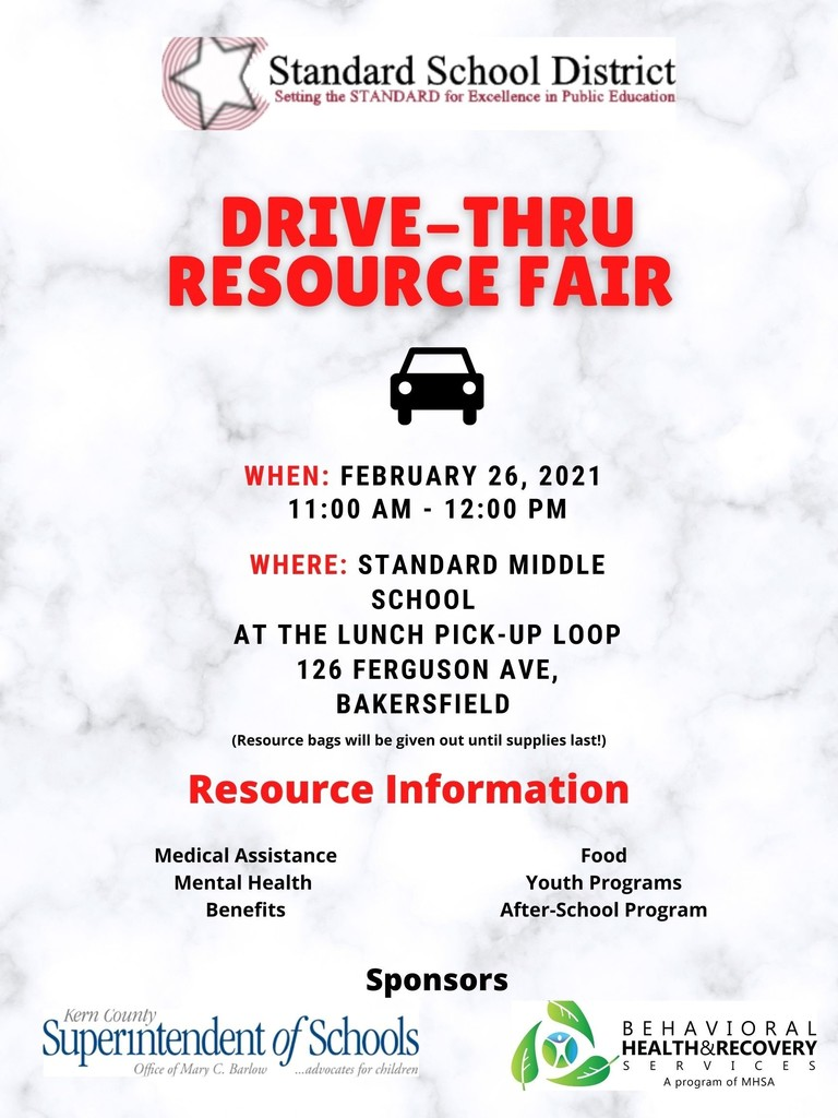 Resource Fair 2-26-2021