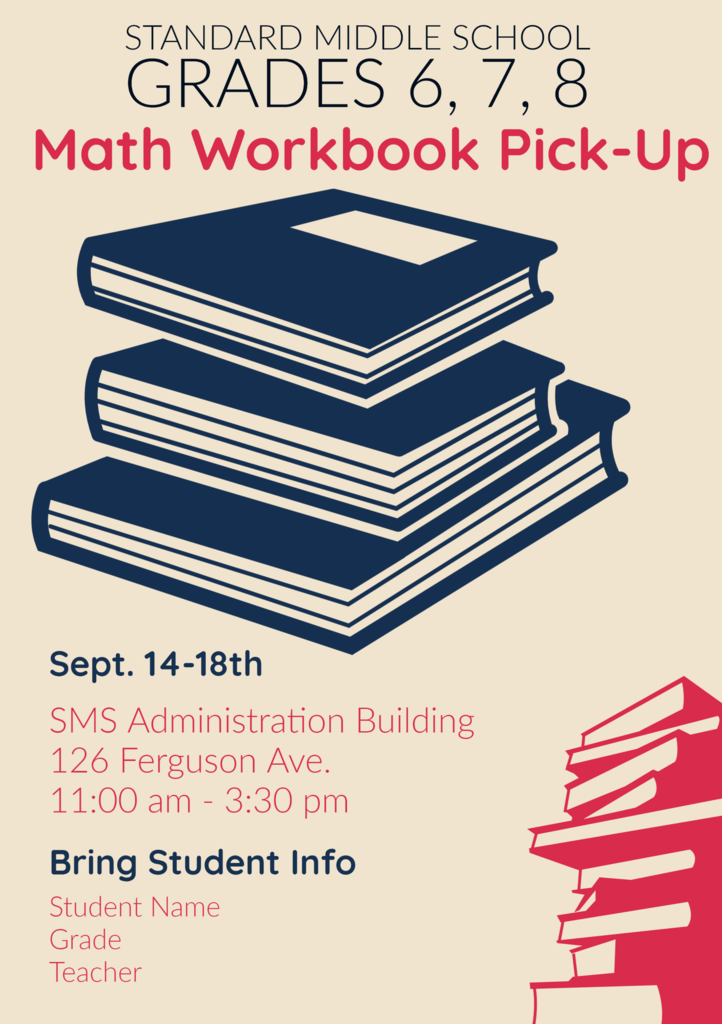 Math Workbook Pickup